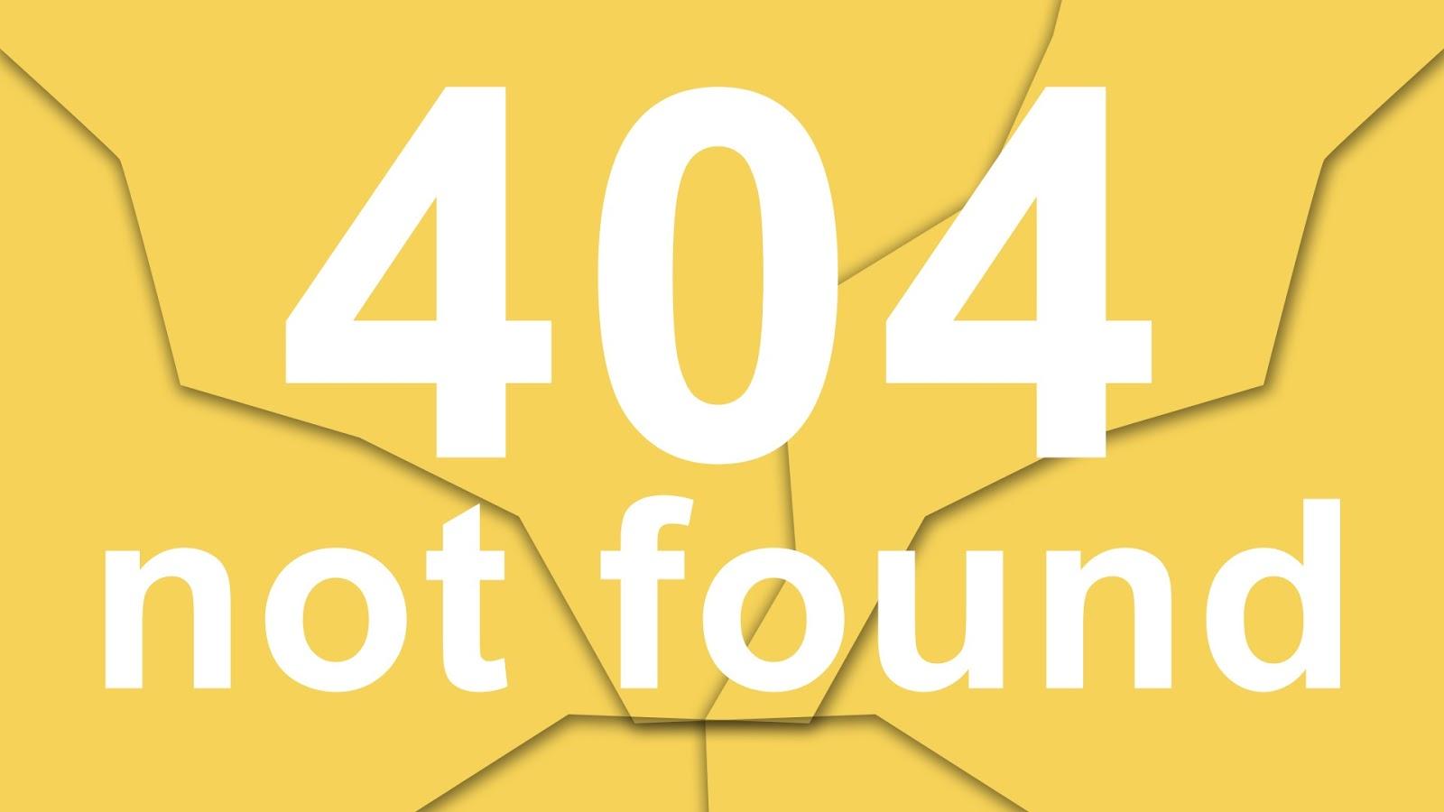 Lỗi 404 - Không Tìm Thấy Trang!